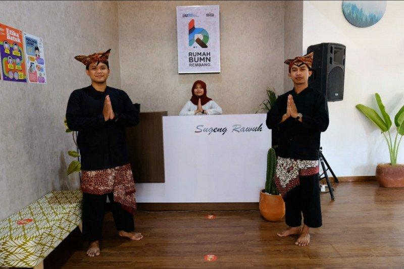 Perkuat status Rembang Kabupaten Kreatif, Rumah BUMN berdayakan kalangan milenial