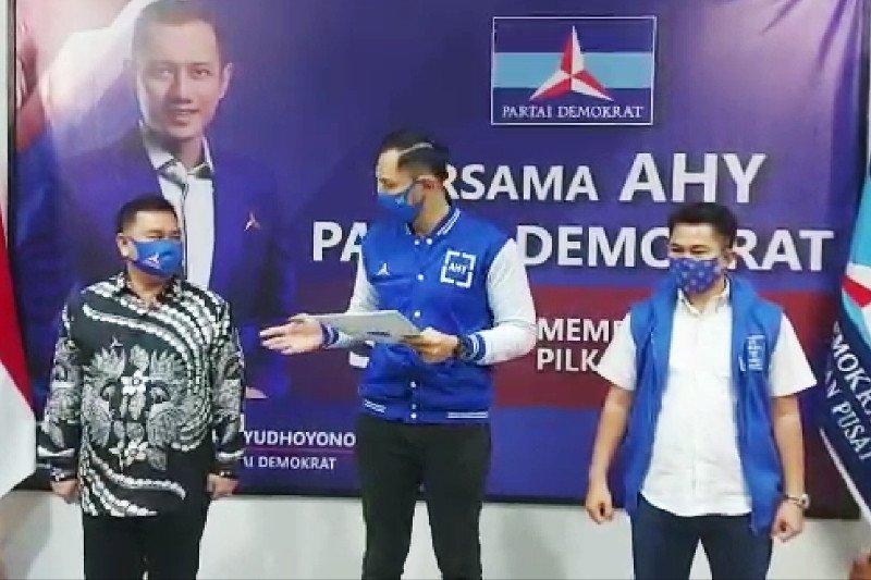 AHY umumkan Demokrat usung Halikinnor-Irawati