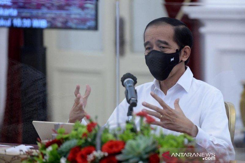 Presiden: Para gubernur hati-hati atas pergerakan COVID-19