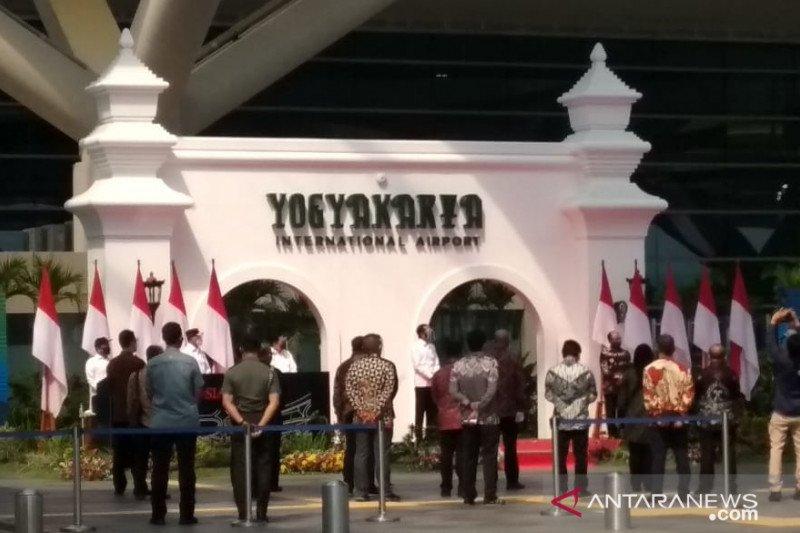 Presiden Jokowi resmikan Bandara Yogyakarta International Airport di Kulonprogo