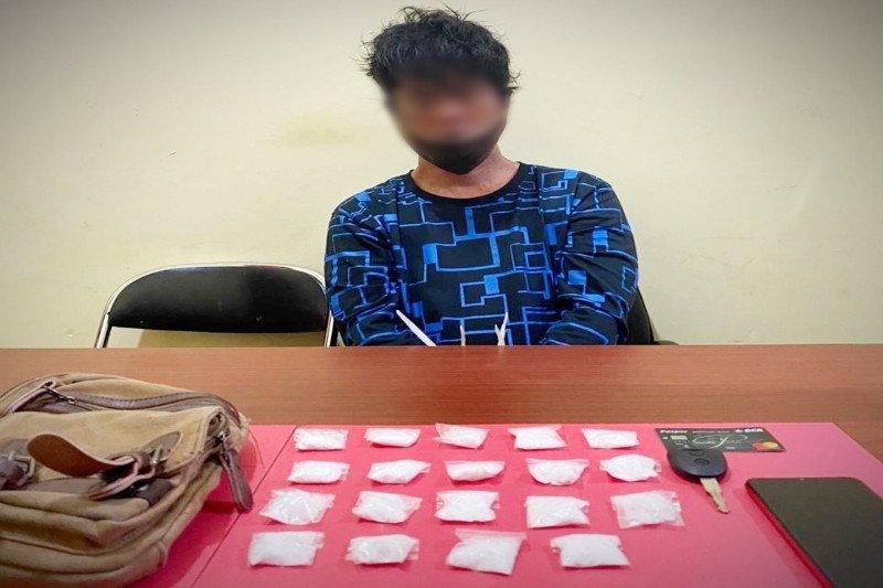 Polda Kalteng tangkap tersangka pemilik 95,65 gram sabu-sabu