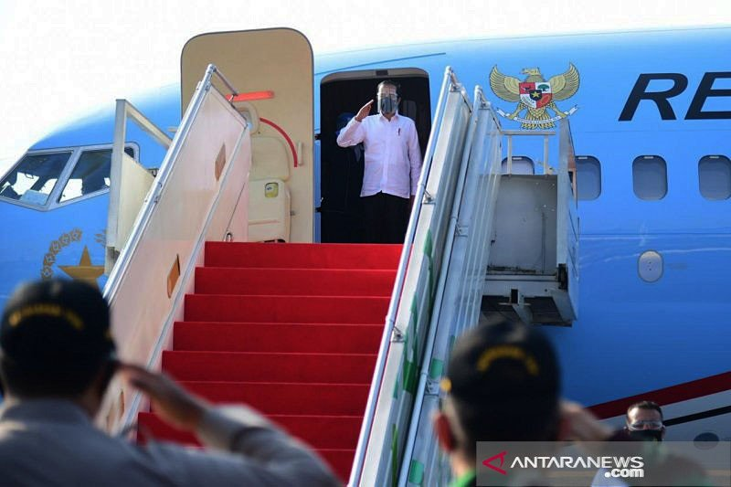 Jokowi ingatkan pemakaian masker kunci sebelum vaksinasi COVID-19
