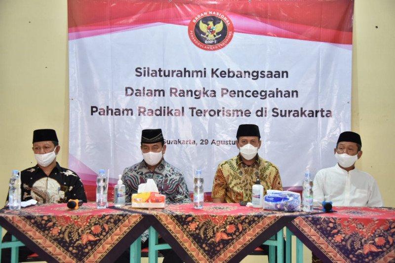 BNPT tingkatkan daya tangkal radikal terorisme di Surakarta