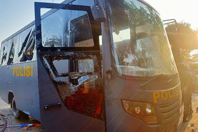 Polisi sebut penyerangan di Mapolsek Ciracas dilakukan 100 orang