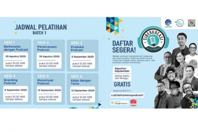 Kominfo rencana tambah relawan Gerakan Literasi Digital Siberkreasi