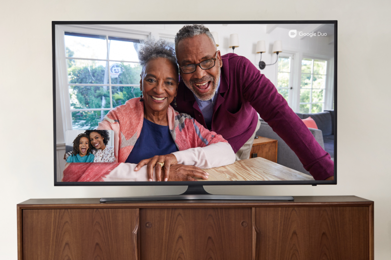 Google Duo bakal hadir di Android TV