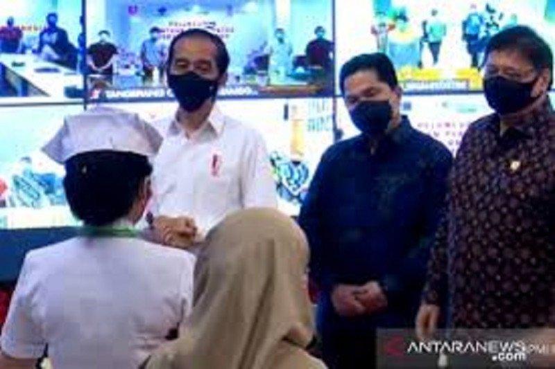 Presiden Jokowi pastikan Vaksin Merah Putih diproduksi pertengahan 2021
