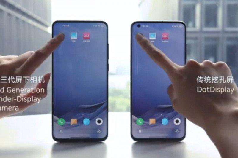 Xiaomi pamerkan teknologi kamera bawah layar ponsel
