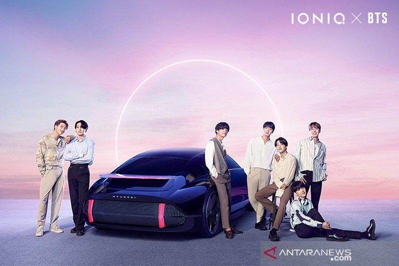 """Hyundai-BTS luncurkan """"IONIQ: I'm On It"""""""