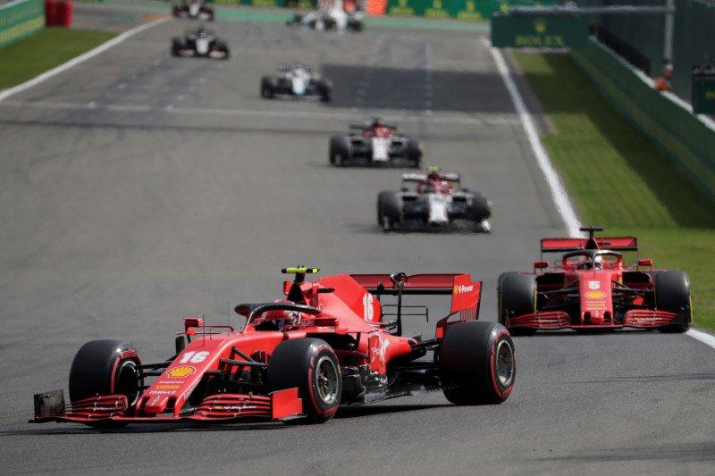 Ferrari frustasi di Spa jelang dua balapan di kandang