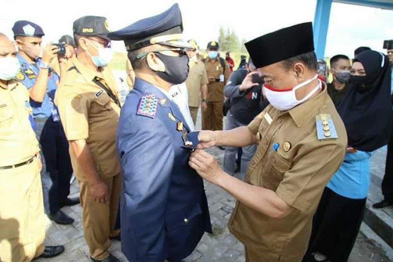 Bupati Seruyan lantik 28 pejabat struktural dan Pj Kades di Pelabuhan