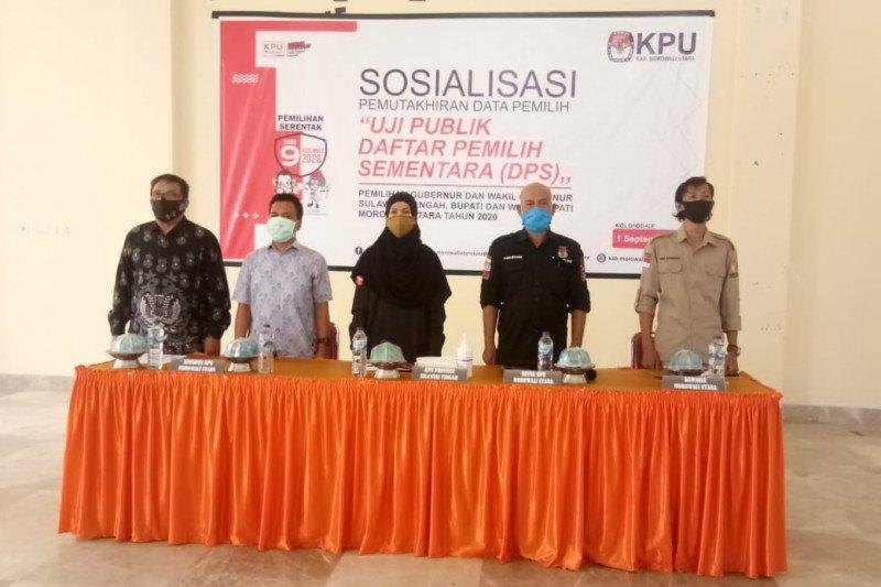 KPU Morut gelar uji publik Daftar Pemilih Sementara