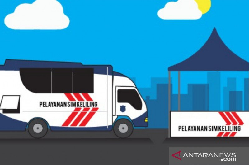 Polda Metro Jaya sediakan layanan SIM Keliling