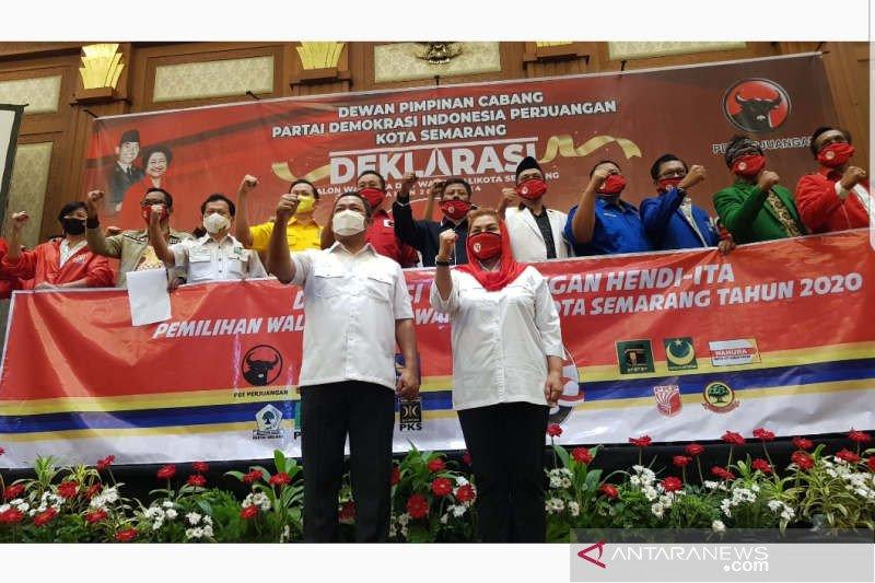 Seluruh parpol DPRD Kota Semarang pastikan usung petahana