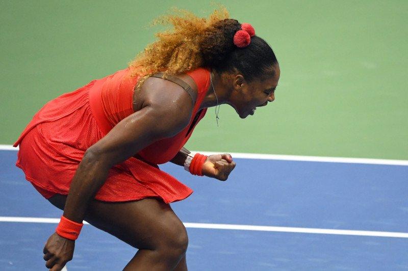 Serena Williams menang atas Kristie Ahn pada US Open