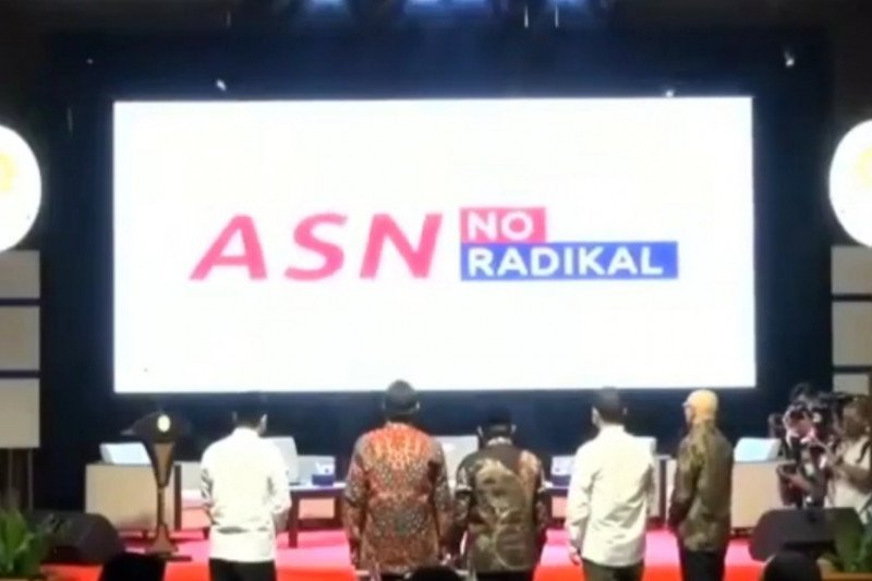 Tangkal paham radikalisme di ASN, Kementerian PAN RB luncurkan Aplikasi 'ASN No Radikal'
