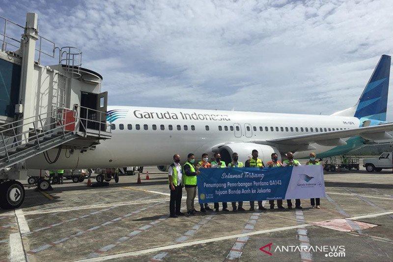 Garuda Indonesia Tambah Frekuensi Penerbangan Pagi Di Aceh Antara News