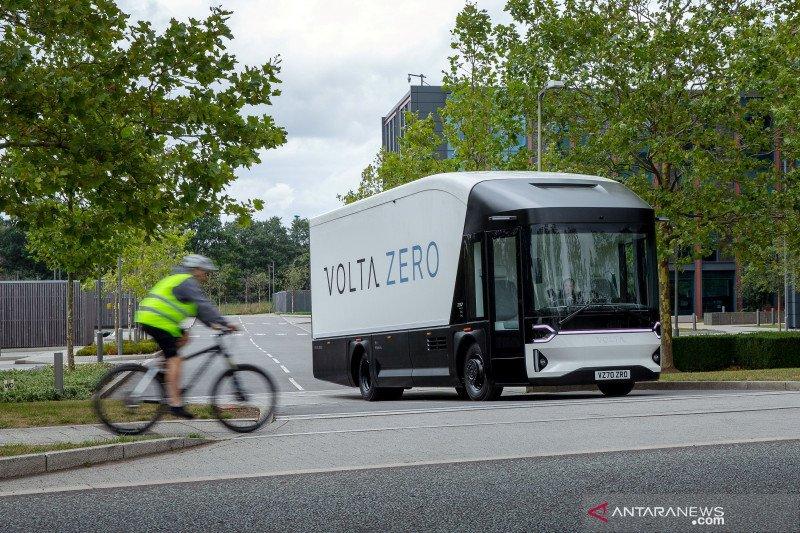 Truk listrik Volta Zero Swedia bakal diproduksi di Inggris