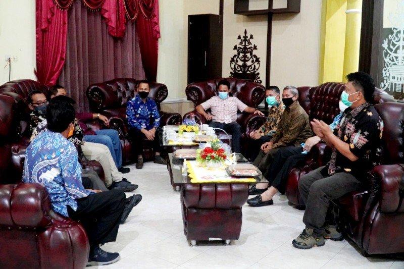 Terima kunjungan DPRD Kalteng, bupati sebut Lamandau dalam keadaan kondusif