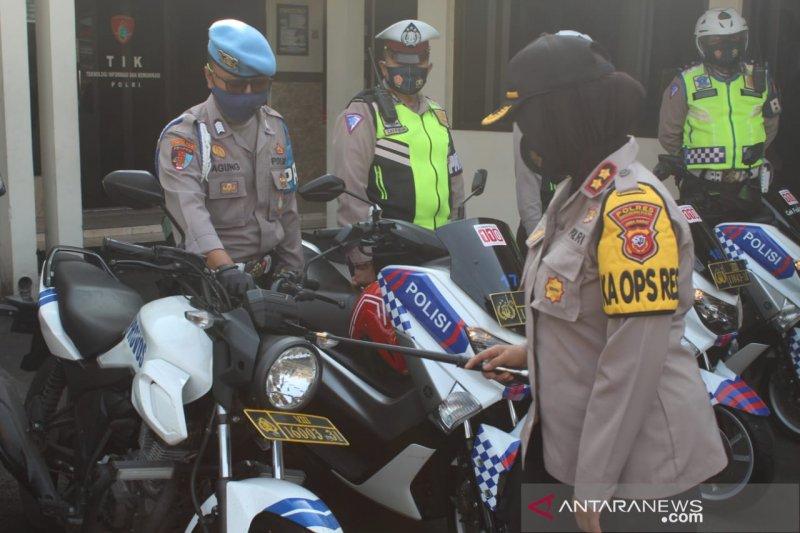 Ratusan personel kepolisian dikerahkan amankan tahapan Pilkada Sukabumi
