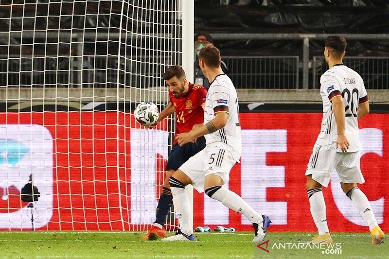Spanyol amankan satu poin dari Jerman dalam Liga Negara UEFA