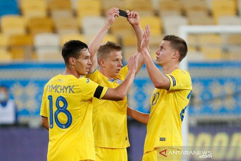 Ukraina pimpin Grup A4 Nations League setelah takklukkan Swiss