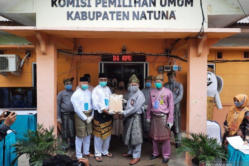 KPU terima berkas calon Bupati dan Wakil Bupati Natuna