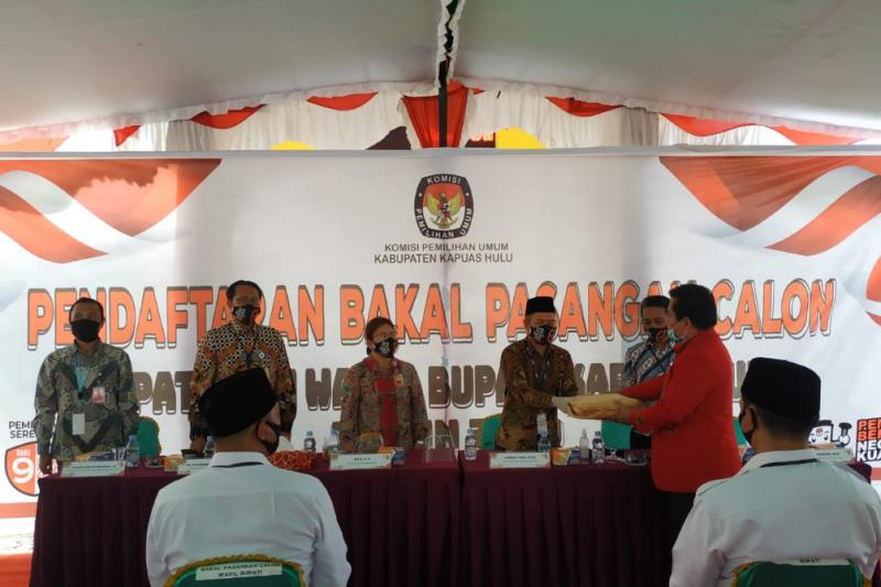 Pendaftaran Pilkada Kapuas Hulu Sis Wahyu Resmi Mendaftar Antara News Kalimantan Barat