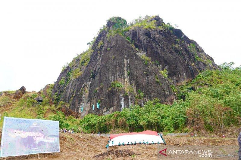 KLHK meninjau lokasi bekas tambang di Bengkulu yang jadi wisata alam