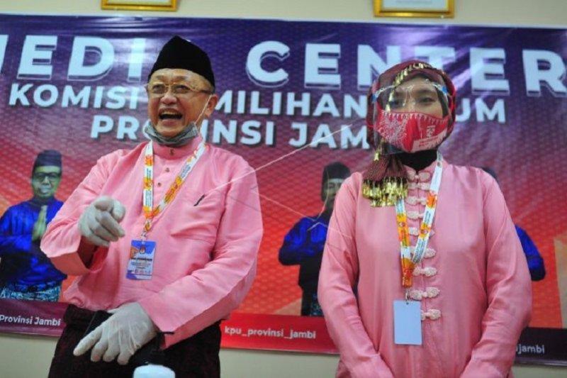 Pendaftaran calon gubernur dan wakil gubernur Jambi