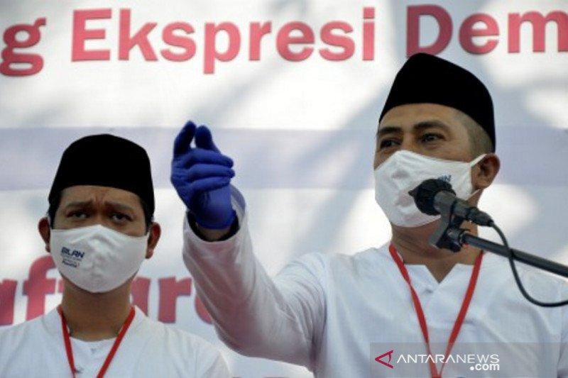 Syamsu Rizal-Fadli Ananda daftar calon walikota Makassar