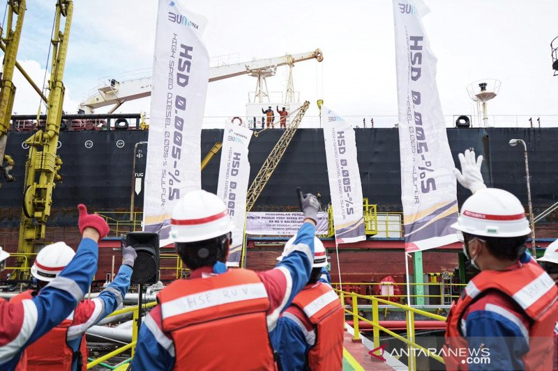 Pertamina ekspor 200 ribu barel minyak diesel HSD ke Malaysia