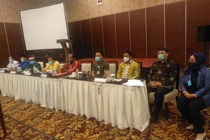 Delapan Ketua parpol di Kalteng komit menangkan Sugianto-Edy