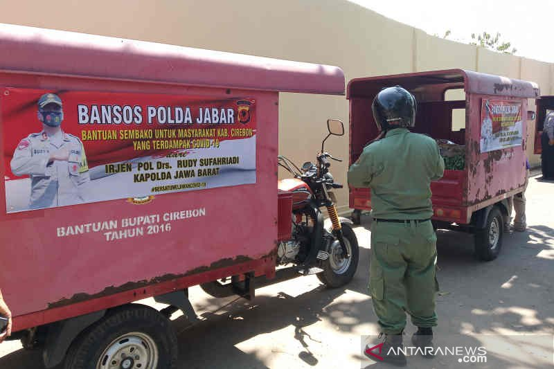 Polresta Cirebon jadikan lapang tembak lahan produktif saat pandemi