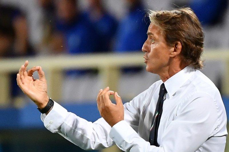 Pelatih Italia Mancini rotasi pemain