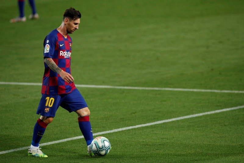 Messi menyatakan ingin akhiri pertentangan di Barcelona