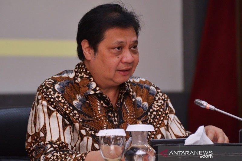 Menko Airlangga meminta Anies berlakukan jam kerja fleksibel saat PSBB
