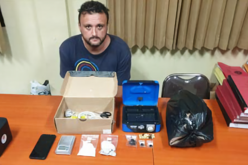 Polda Bali tangkap warga Spanyol miliki kokain dan ekstasi