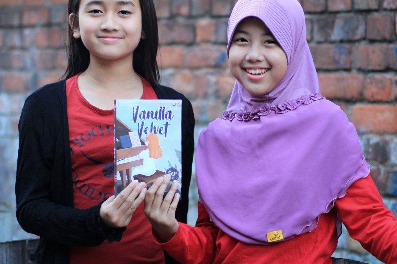 Dua gadis cilik Indonesia terbitkan novel bahasa Inggris