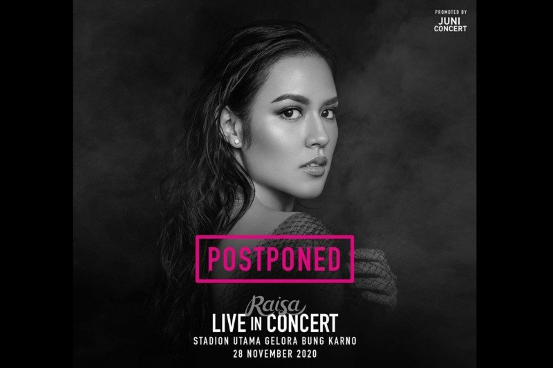 Konser Raisa di GBK ditunda
