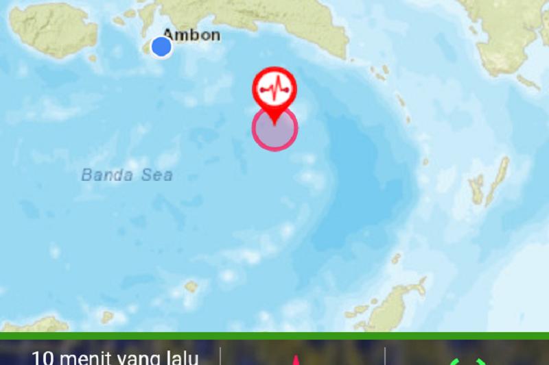 Gempa bumi 5,0 magnitudo guncang Maluku Tenggara Barat