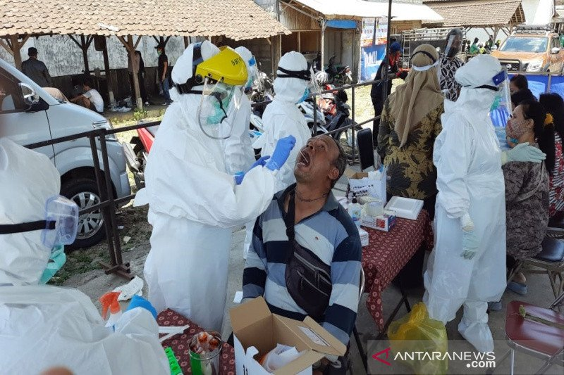 Dinkes gelar tes usap di Pasar Hewan Boyolali setelah dua pedagang positif