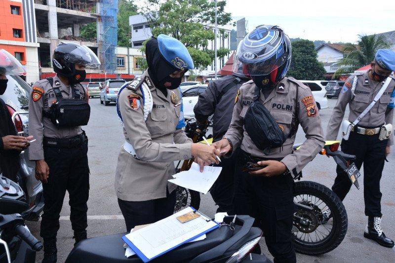 Polda Papua kembali gelar penegakkan disiplin personel