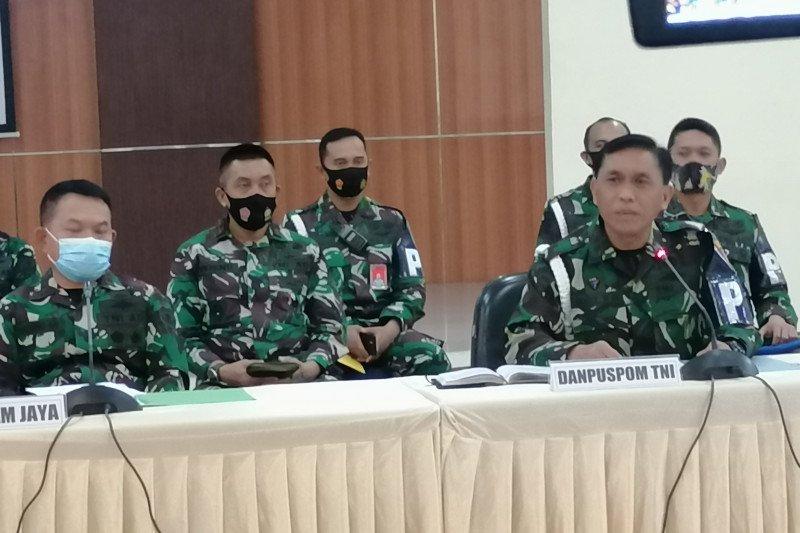 Danpuspom: Enam prajurit TNI AL tersangka perusakan Mapolsek Ciracas