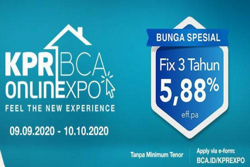 BCA hadirkan KPR BCA Onlinexpo