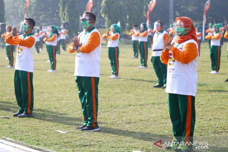 Pemkab Bogor peringati Haornas dengan luncurkan Senam Pancakarsa