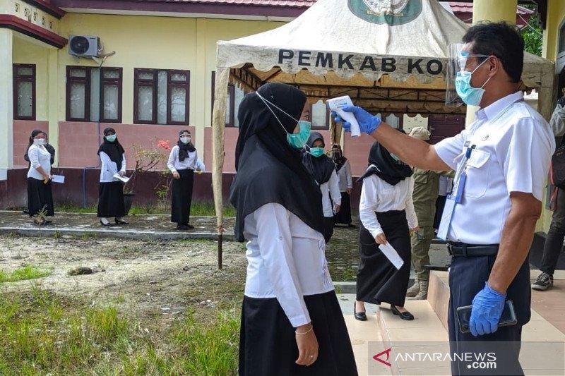 Hari pertama tes SKB CPNS Kotim tanpa kendala