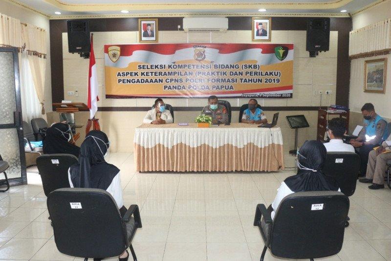 Polda Papua gelar SKB ketrampilan pengadaan CPNS 2019