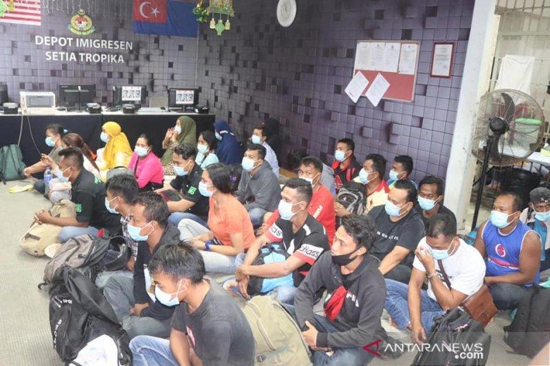 Tentara Malaysia tangkap 28 pekerja migran ilegal