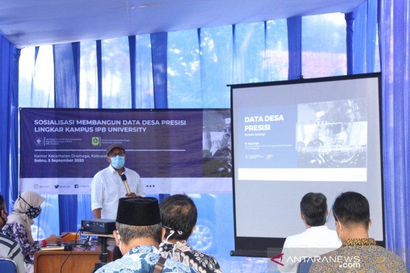 IPB bantu 12 desa lingkar kampus kembangkan data presisi